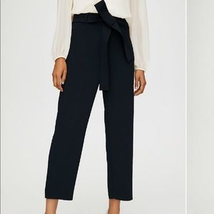 Aritzia Wilfred Tie Front Pants Size 2